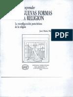 José María Mardones- Las Nuevas Formas de La Religion
