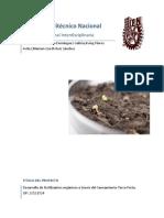 Desarrollo de fertilizantes orgánicos a través del Saneamiento Terra Preta