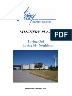 Victory Baptist Church Ministry Plan