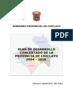 Pdc de La Provincia de Chiclayo
