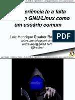 Experiencia linux2