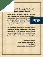 Nume Eor Declaration