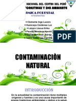 Contaminacion Natural