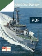 Silver Jubilee Fleet Review 1977 (official programme)