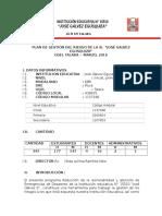 I.E. 15510 Plan de Gestion de Riesgo-OK