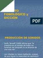 Apartato Fonologico y Dicción