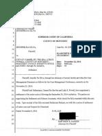 16 11-08 Pltf's Case Mgmt Stmt_Redacted