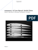 Low Speed Airfoil Data Selig 2011 Vol5 Draft