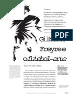 BARRETO, Túlio Velho. Gilberto Freyre e o Futebol-Arte.