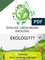 3. Zoologi Lingkungan