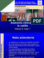 Anatomia Clinica Rodilla Ppt