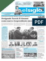 Edición Impresa Elsiglo 05-01-2017