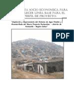 Informe 3 Encuesta Socioeconomica - Pachacutec