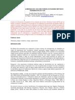 Modelamiento de La Amenaza Del Volcán Uturuncu Utilizando Métodos Probabilísticos y Sig