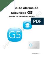 SAS-G5 Manual de Usuario Avanzado Chuango Proytelcom