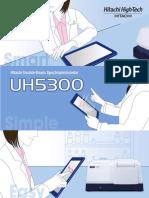 Hitachi UH5300 English Brochure