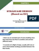 Design of Staircase according to Eurocode 2