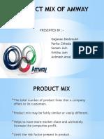 productmixofamway-121021125728-phpapp01.pptx