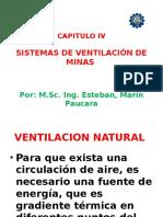 Cap. IV Sistemas Ventilacion Minas (Vent. Natural y Reguladores Aire)