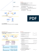 Commutative, Associative and Distributive Laws