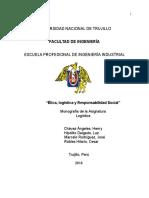 Monografia Etica,Logistica y Rs