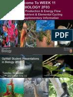 FALL 2015 BIOLOGY 2F03 WEEK 11 PPT CHPS 19 & 20 LECTURE5.pdf