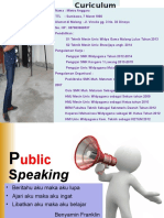 Materi Public Speaking OKKKEY