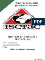 Suadico Trabalho Fracturas Em Crianca e Epifisiolise ISCTAC