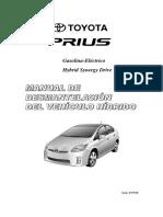 Manual de Desmantelación Toyota Prius
