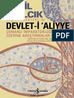 Halil İnalcık - Devleti Aliyye Osmanlı İmparatorluğu Üzerine Araştırmalar 2.pdf