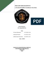 Paper Ilmu Bedah Khusus Kelompok 6