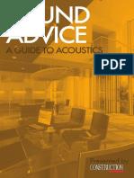 Acoustics e Book