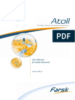 Atoll 3.3.2 User Manual Radio
