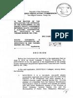 Socoteco 2 Therma Marine Decision%2c+ERC+Case+No.+2014-081+RC