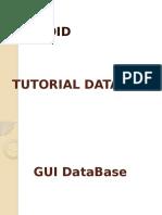 Tutorial Database