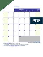 January 2017 Calendar.docx