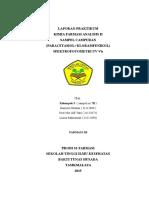 analisis campuran paracetamol dan kloramfenikol dengan metode Spektrofotometri UV-Vis