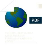 Tutorial Penyusunan Layer Peta Pembuatan Layout Di Arcgis 487