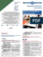 Fonduri EU pentru Autoritatile Publice Locale