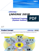 [1] SV8100 Training (System Outline) (Issue 1-4)