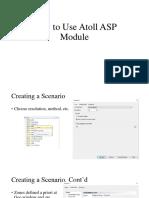 Atoll ASP Module