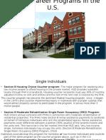 Housing Career Programs in the U.S.
