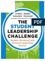 the student leadership challenge - student workbook and personal leadership journal tips