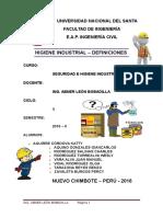 Higiene Industrial _ Definiciones