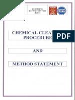 Chemical Cleaning Procedure BdEU UNIT & AU Dahej Site