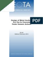 EOTA Technical Report TR045