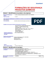 FISPQ - Coral - Wanderpoxy - Esmalte Sintético - Azul Celeste