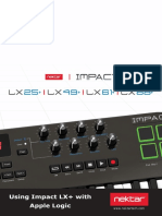 Impact LX+ with Apple Logic