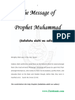 Message of Prophet-English