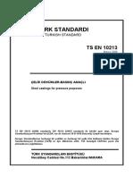 En 10213 - 2007 Steel Castings for Pressure Purposes